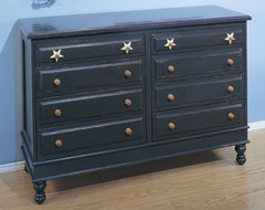 Stars Eight Drawer Dresser traditional kids dressers