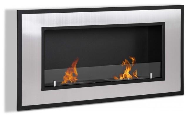 Bellezza - Modern Ventless Ethanol Fireplace contemporary-fireplaces