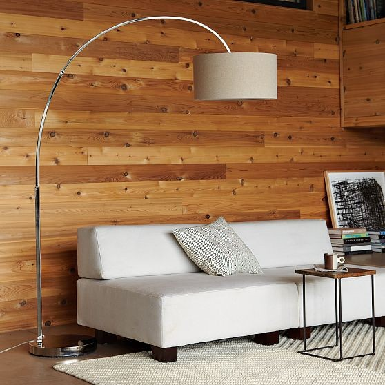 Overarching Floor Lamp Modern Floor Lamps By West Elm