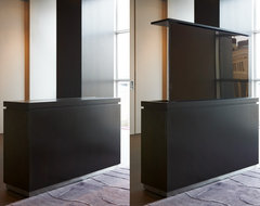 Modern TV Lift Cabinet modern media storage