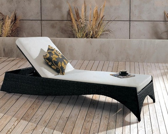 Gamn Adjustable Patio Chaise Lounge - Stylish and durable, this Gamn Chaise Lounge allows you to relax in style.