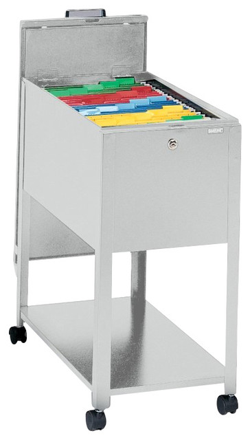 Mayline Mobilizer 1 Drawer Mobile Metal File Cabinet with ...