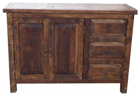 Old Wood Vanity - Rustic - Bathroom Vanities And Sink Consoles - by ...
