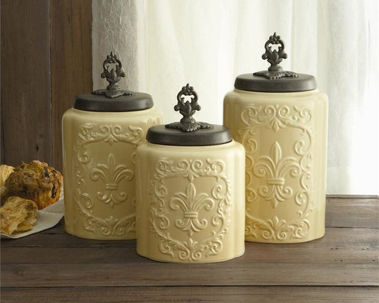 Kitchen Canister Set and Jars -
