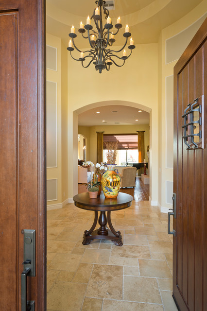 Transitional Style traditional-entry