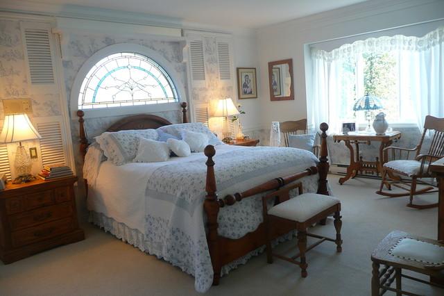 Beautiful Romantic Bedroom Traditional Bedroom vancouver
