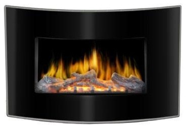 Valencia Wall Mount Electric Fireplace contemporary-indoor-fireplaces