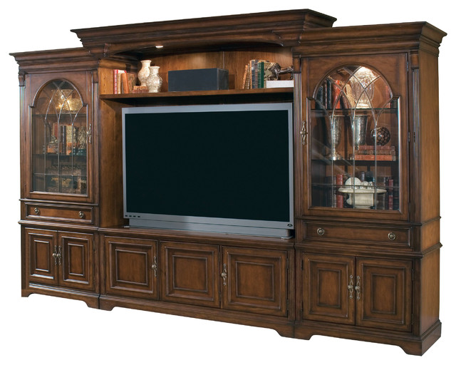 Home Theater Group w/65 inch Console 281-70-222 traditional-furniture