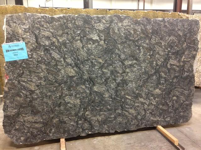 New Kozmus Leather Granite - Kitchen Countertops - atlanta - by AGM IMPORTS