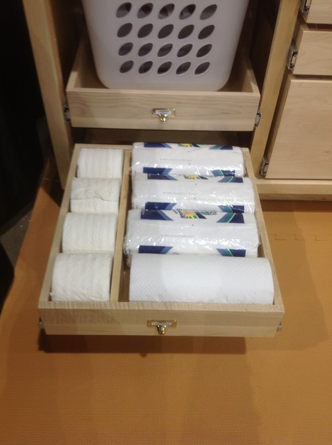 Bathroom Roll Out Shelves For Existing Cabinetry - Kitchen Drawer Organizers - minneapolis - by ...