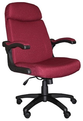 Comfort High-Back Office Chair with Arms modern-home-office-accessories