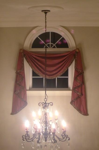 Custom Drapery window-treatments