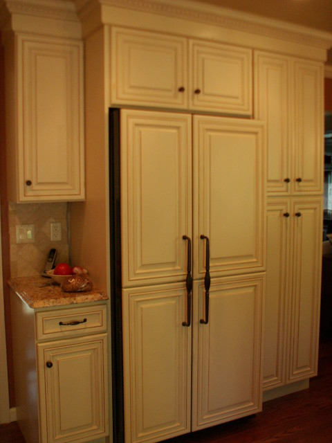 Before and After Split level Kitchen Remodel new york