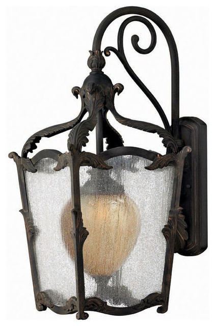 Hinkley Lighting 1425AI Sorrento Aged Iron Outdoor Wall Sconce - Rustic - Outdoor Wall Lights ...
