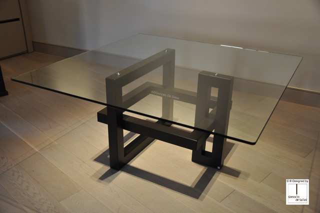 IOS square dining table modern