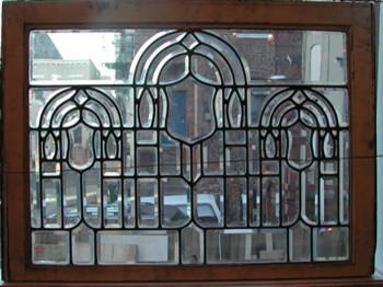 Beveled Glass Window traditional-windows