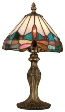 Dale Tiffany Jewel Dragonfly Accent Lamp modern-table-lamps
