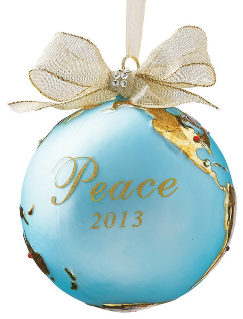 2013 Peace on Earth Christmas Ornament - Frontgate - Christmas ...
