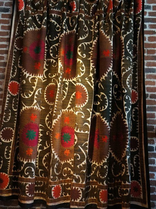 Vintage Suzani Throw -