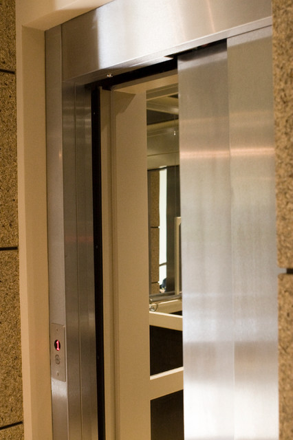 Custom Residential Elevator with Sliding Doors - Modern - other metro - by Symmetry Elevating ...