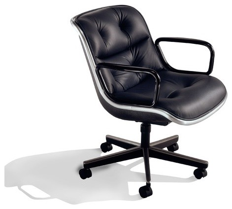 Pollock Mid-Back Office Chair with Arms modern task chairs