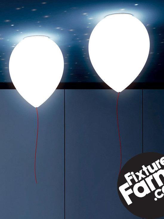 FixtureFarm.com - The Estiluz T-3052 Balloon Flush Mount Light Fixture is AWESOME!  Buy it now on Fixture Farm