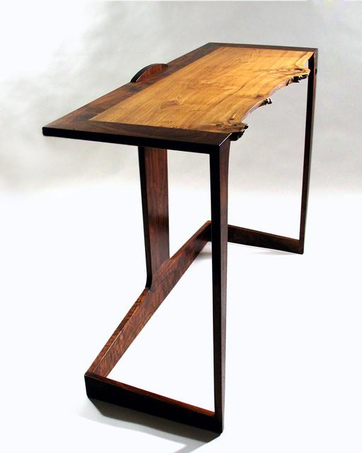 "Unique Sofa Tables: ""Embrace"" Custom Entry/sofa Table"