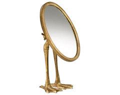 Duck-Leg Mirror contemporary-makeup-mirrors