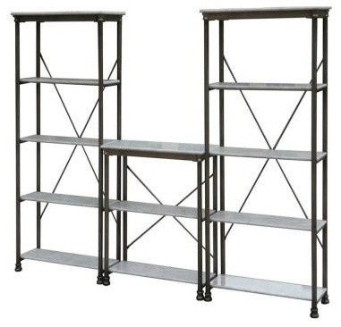 Storage Unit Contemporary Display And Wall Shelves By Home Depot