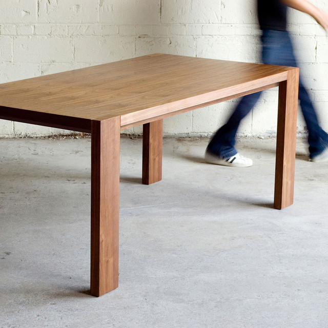 Plank Kitchen Table Modern Dining Tables new york