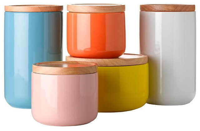 general eclectic canisters contemporary kitchen canisters and jars by wanda harland