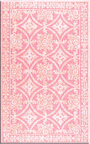 Romantic Lace Wool Rug traditional kids rugs