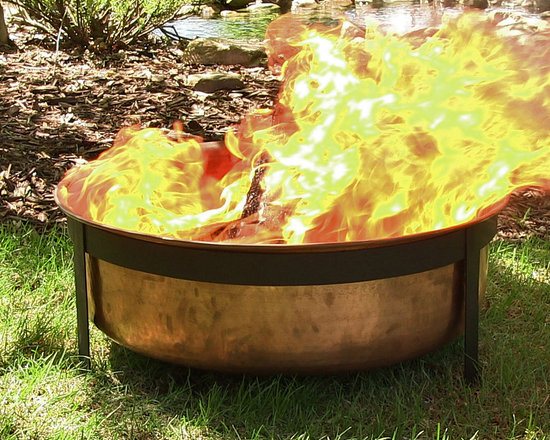 Outdoor Classics Hammered Copper Fire Pit -