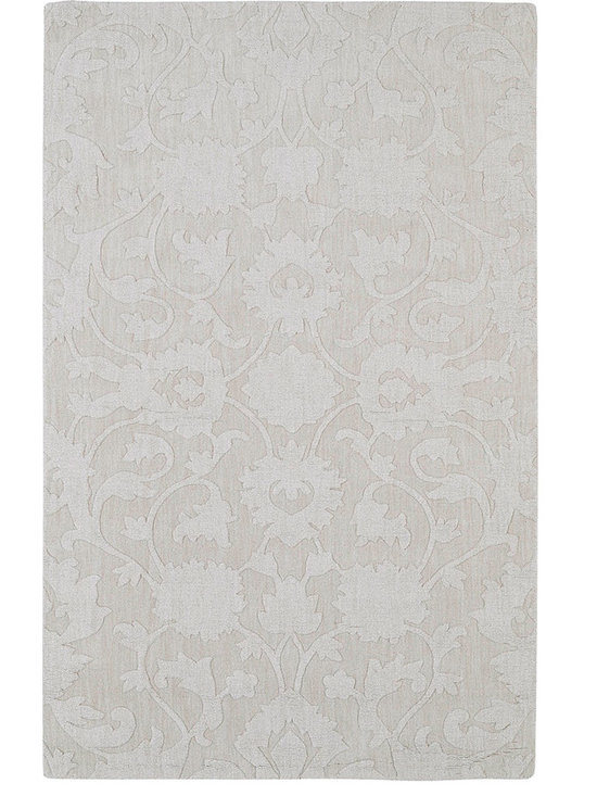 Kaleen - Imprints Classic Ipc02 Ivory Rug - Imprints Classic, where textiles meet fashion. Modern textile designs and todays hottest colors combine to meet the new evolution of this beautiful collection. Straight off the runway and into your home each rug is handmade in India of 100% Virgin Wool.