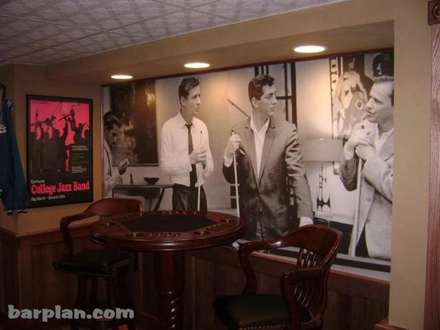 Easy Home Bar Plans - Home Bar samples. - traditional - basement ...