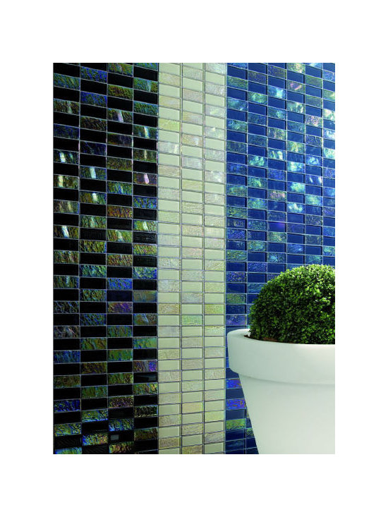 "Alttoglass Precious stone series - Alttoglass Precious Stone Aqua Marine 12"" x 12"" StoneMosaic Tile Features: Application: Indoor only, Walls Install Type: Thin-Set Usage: Commercial or Residential Color:Rubi Product Type Mosaic Tile Coverage 1 sq ft Piece(s):11 per Box Material:GlassTile Size:12 x 12 format / Shape Square Tile Use: Wall Series:Precious Stone Brand:Alttoglass Weight: 4.00 lbs Dimensions:Length - 12.00""   Width - 12.00"""