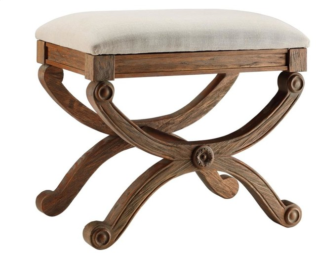 Sinclair Stool - Traditional - Vanity Stools And Benches - by Chic Art and Accents