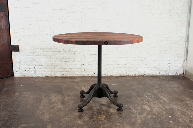 Small Bistro Table Indoor - V42 Bistro Table Small Eclectic Indoor ...