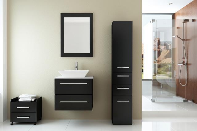 """24"""" Carina Single Bathroom Vanity modern-bathroom-vanities-and-sink-consoles"""