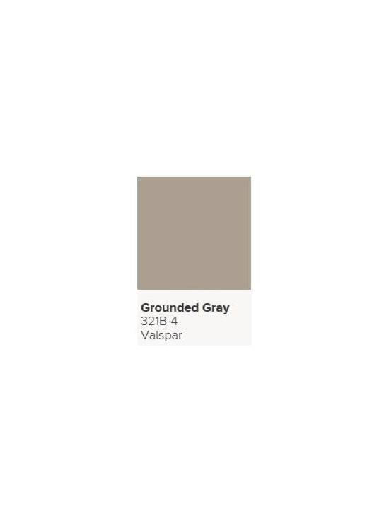 Jerilyn's Successful Paint Colors - A great gray for residential as it contains warmer hues. By Valspar.