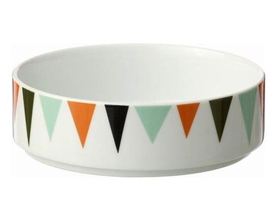 Ferm Living Bowl - Here is a Bowl by Ferm Living for the entire family – whether you need a interesting bowl for grapes or want to set an amazing looking table for a breakfast.