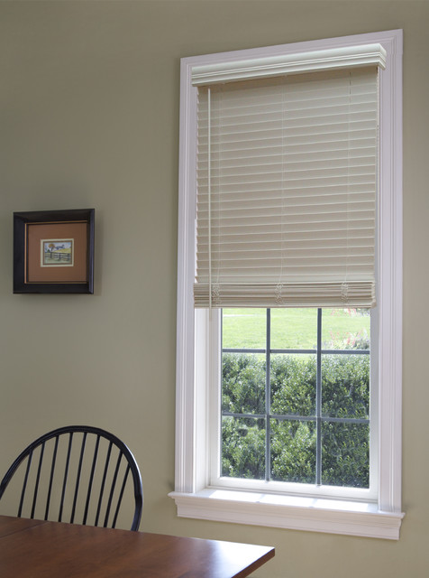Blinds Brand Cordless Fauxwood Blinds Traditional