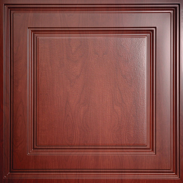 Stratford Cherry Wood Ceiling Tiles traditional-ceiling-tile