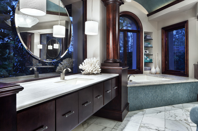 JAUREGUI Architecture contemporary bathroom