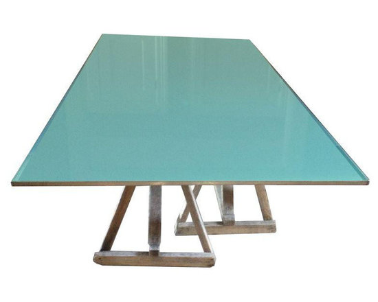 Custom Dining Room Table by Ken Fulk - Dimensions 90.0ʺW × 46.0ʺD × 30.5ʺH