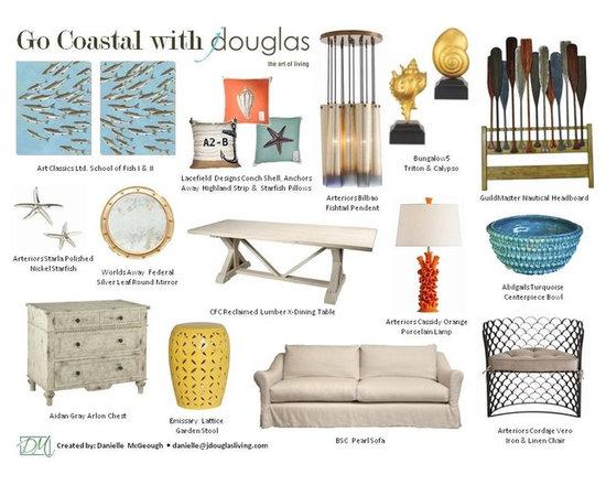 Abigails, Art Classics, Arteriors, BSC, Bungalow 5, CFC, Emissary, GuildMaster, - Go Coastal with jdouglas - Danielle McGeough
