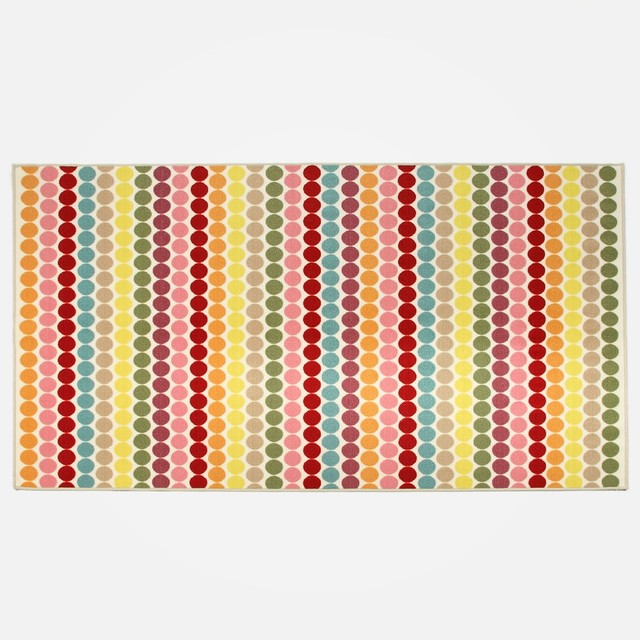 Retro Dot Rug contemporary-rugs