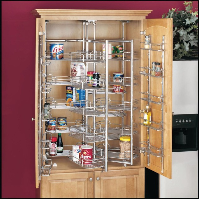 Kitchen Storage Ideas Pantry Cabinets Other Metro By Drawerslidescom