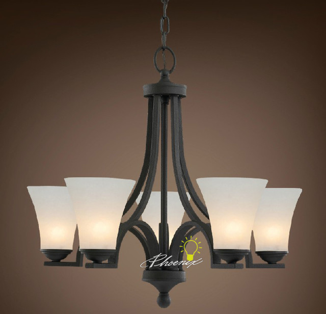 Black Simple chandelier Contemporary Chandeliers new