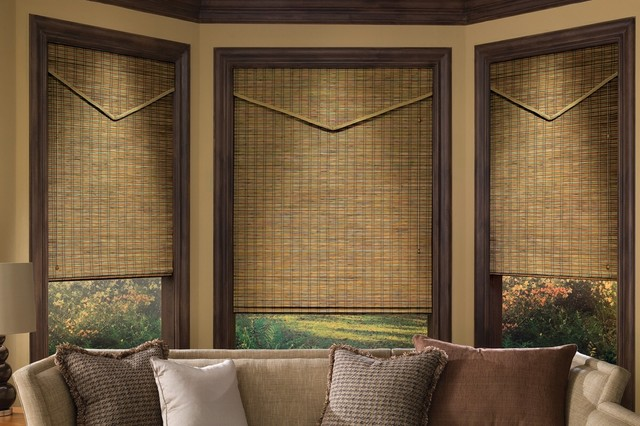 Rustic Window Fashions Rustic Roman Shades Other